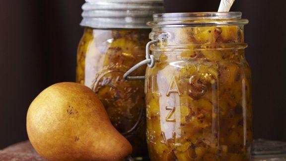 Rezept: Chutney aus Birne