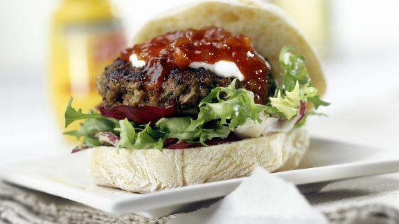 Rezept: Ciabatta-Hamburger