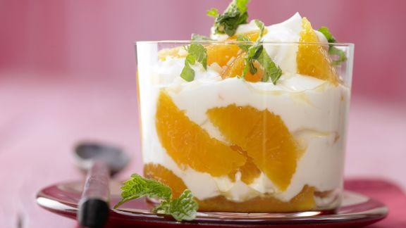 Rezept: Clementinen-Joghurt