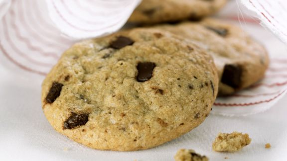 Rezept: Cookies mit Schokostückchen
