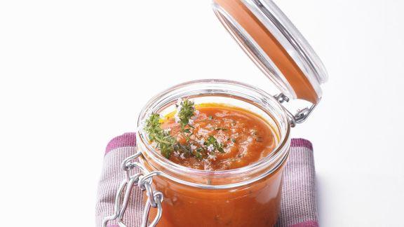 Rezept: Coulis aus Tomate und Thymian