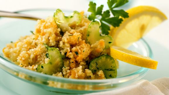 Rezept: Couscous-Linsensalat