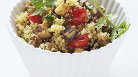 Rezept: Couscoussalat mit Gemüse