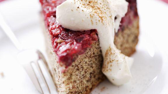 Rezept: Cranberry-Kuchen