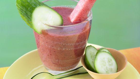 Rezept: Cranberry-Melonen-Saft