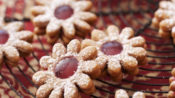 Rezept: Cranberry-Spitzbuben