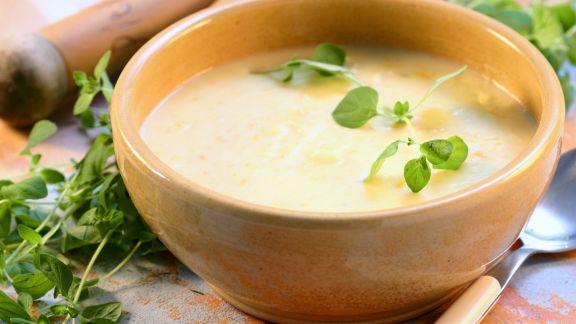 Rezept: Cremige Kartoffelsuppe