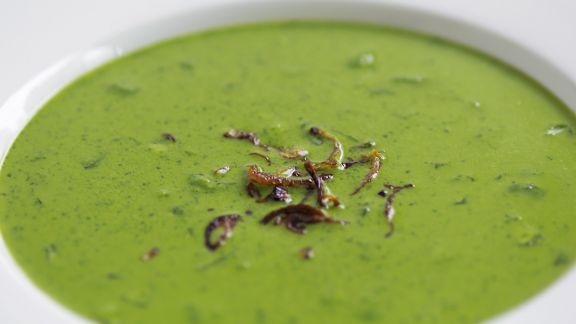 Rezept: Cremige Spinatsuppe