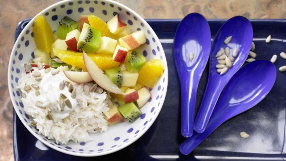 Rezept: Cremiger Joghurt-Reis