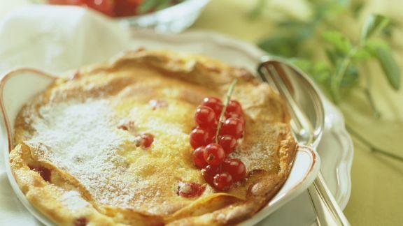 Rezept: Crêpe mit Beeren-Quark-Füllung