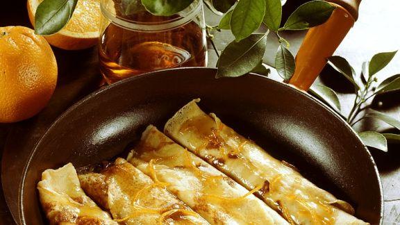 Rezept: Crepes Suzettes