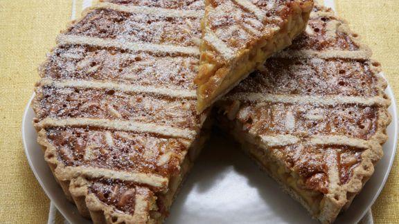 Rezept: Crostata mit Pinienkernen und Honig