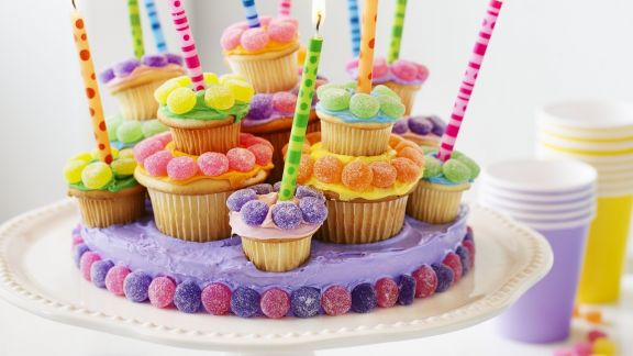 Rezept: Cupcake-Torte