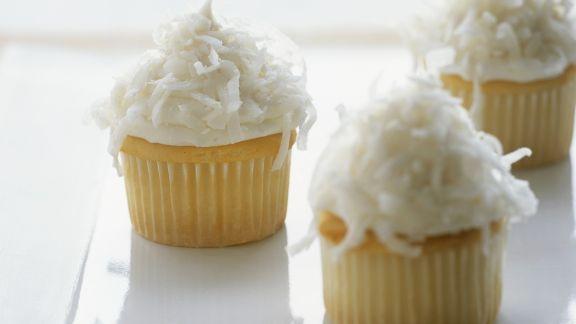 Rezept: Cupcakes mit Kokos