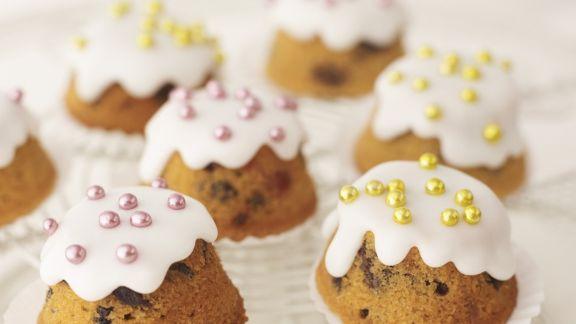Rezept: Cupcakes mit Zuckerdekor