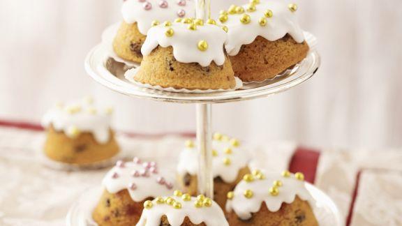 Rezept: Cupcakes mit Zuckerperlen