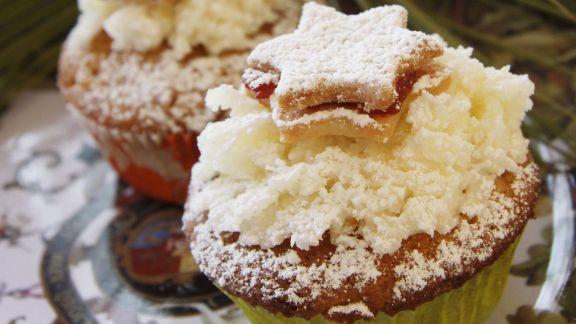 Rezept: Cupcakes zu Weihnachten