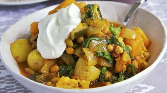Rezept: Curry aus Gemüse