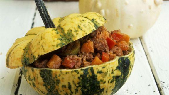 Rezept: Curry mit grünem Gemüse