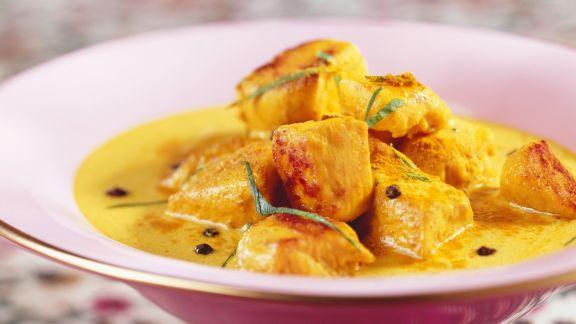 Rezept: Curry mit Hähnchen
