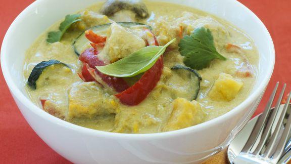 Rezept: Curry mit Süßkartoffeln