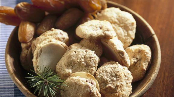 Rezept: Dattelplätzchen auf griechische Art