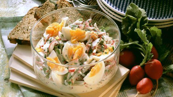 Rezept: Eier-Radieschen-Salat