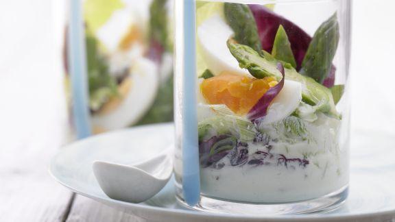 Rezept: Eier-Spargel-Salat