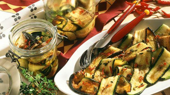 Rezept: Eingelegte Zucchini