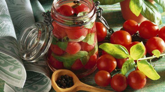 Rezept: Eingemachte Tomaten
