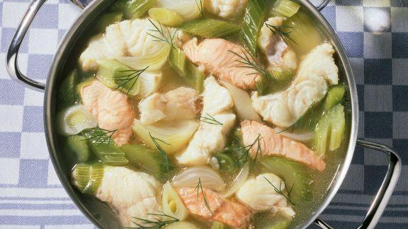 Rezept: Eintopf mit Fisch