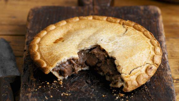 Rezept: Englische Rindlfeischpastete (Steak and Ale Pie)