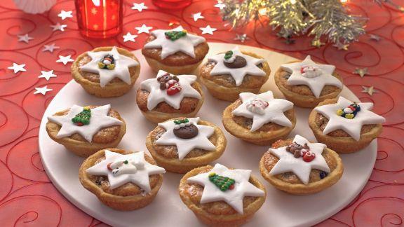 Rezept: Englische Weihnachtsküchlein (Mince Pies)