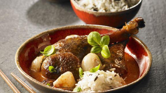 Rezept: Ente in Currysoße