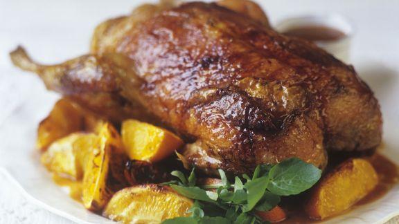 Rezept: Ente mit Orangen