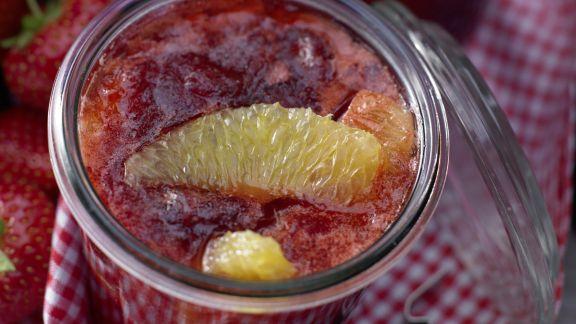 Rezept: Erdbeer-Orangen-Marmelade