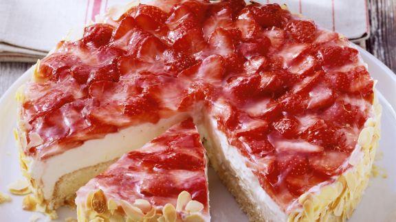 Rezept: Erdbeer-Quark-Torte