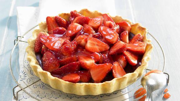 Rezept: Erdbeer-Schoko-Törtchen
