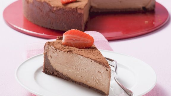 Rezept: Erdbeer-Schokokuchen