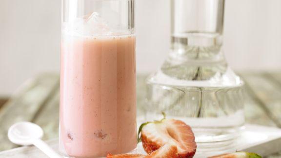 Rezept: Erdbeer-Smoothie