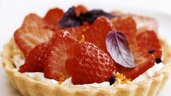 Rezept: Erdbeer-Tortelette