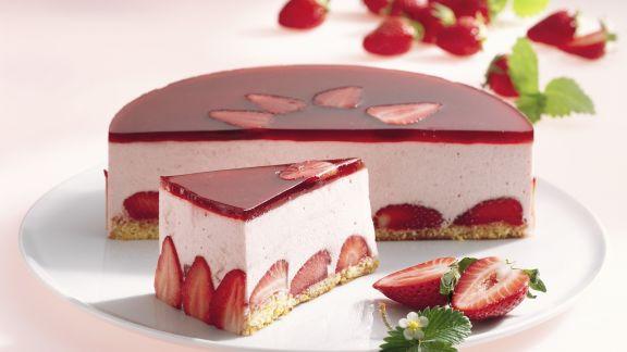 Rezept: Erdbeercreme-Torte