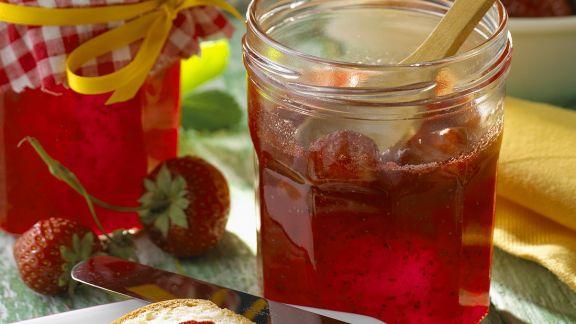 Rezept: Erdbeerkonfitüre