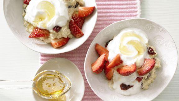 Rezept: Erdbeermüsli