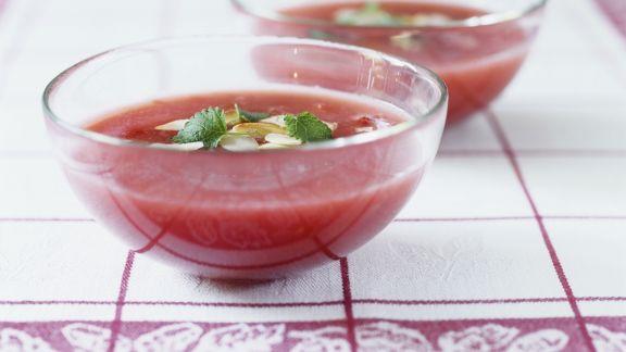 Rezept: Erdbeersuppe