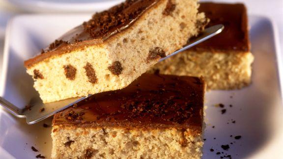 Rezept: Espresso-Blechkuchen