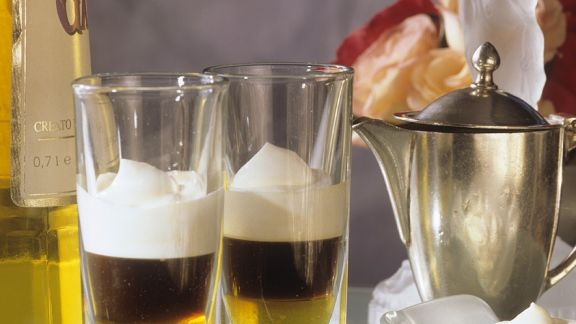 Rezept: Espresso mit Likör