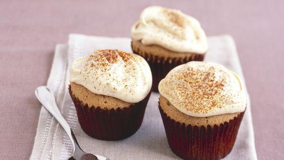 Rezept: Espressomuffins mit Mascarpone-Topping