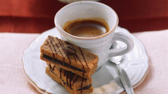 Rezept: Espressoplätzchen