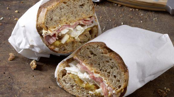 Rezept: Exotisches Roastbeef-Sandwich